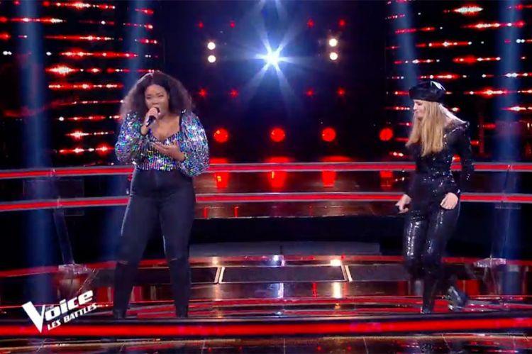 """Replay """"The Voice"""" : Toni et Isilde chantent « Toute la musique que j'aime » de Johnny Hallyday (vidéo)"""
