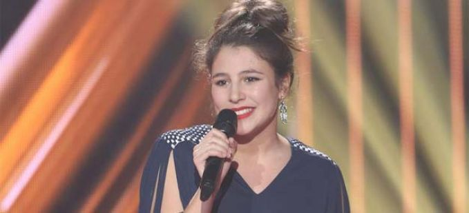 """The Voice"" : Regardez Liza qui interprète ""American Boy"" d'Estelle"