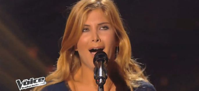 "Replay ""The Voice"" : Aline Lahoud interprète « Khedni Maak » de Salwa Al Katrib (vidéo)"