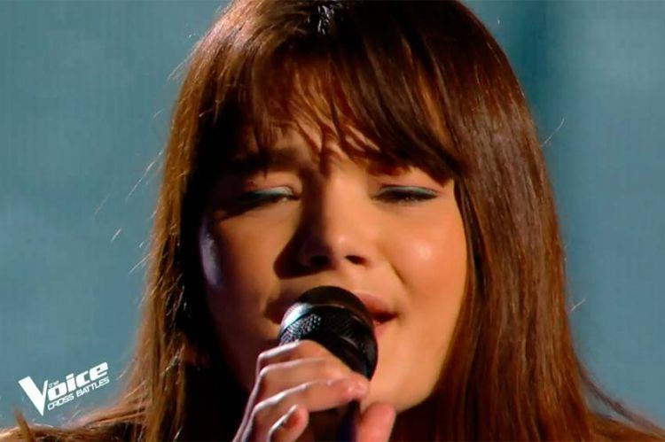 """Replay """"The Voice"""" : Louise Combier chante « Et si tu n'existais pas » de Joe Dassin (vidéo)"""