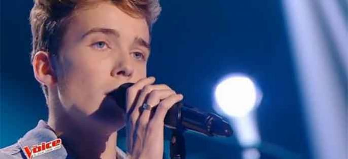 "Replay ""The Voice"" : Enzo chante « One Day » d'Asaf Avidan (vidéo)"