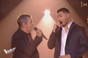 "Replay ""The Voice"" : Pierre Danaë & Julien Clerc « For Me Formidable » de Charles Aznavour en finale (vidéo)"