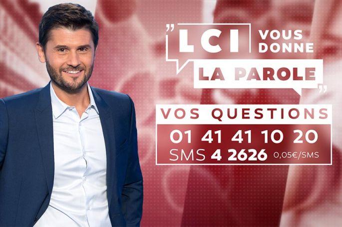 """""""LCI vous donne la parole"""" avec Christophe Beaugrand du 30 mars au 17 avril"""