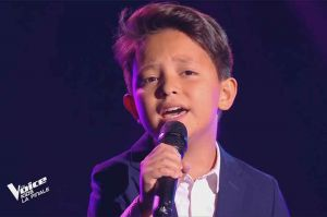 "Replay ""The Voice Kids"" : Natihei chante « I'll never love again » de Lady Gaga (vidéo)"