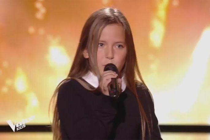 "Replay ""The Voice Kids"" : Marie chante « New York New York » de Frank Sinatra (vidéo)"