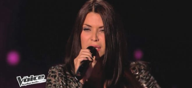 "Replay ""The Voice"" : regardez Ginie Line qui interprète « Where Do I Begin » Love Story (vidéo)"