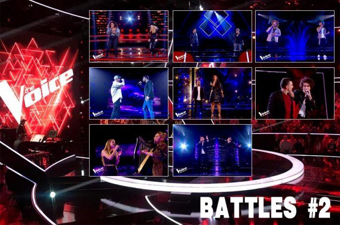 """Replay """"The Voice"""" samedi 14 mars : les 8 Battles de la 2ème soirée (vidéo)"""