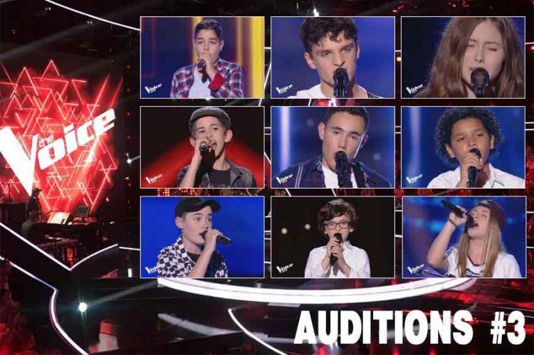 """Replay """"The Voice Kids"""" vendredi 13 septembre : voici les 12 talents sélectionnés (vidéo)"""