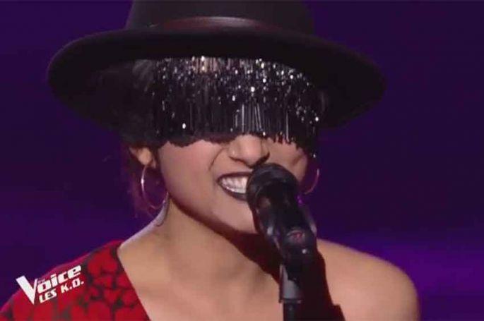 """Replay """"The Voice"""" : Monstre chante « Déshabillez-moi » de Juliette Gréco (vidéo)"""