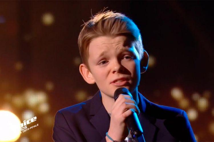 """Replay """"The Voice Kids"""" : Lohi chante « S'il suffisait d'aimer » de Céline Dion (vidéo)"""