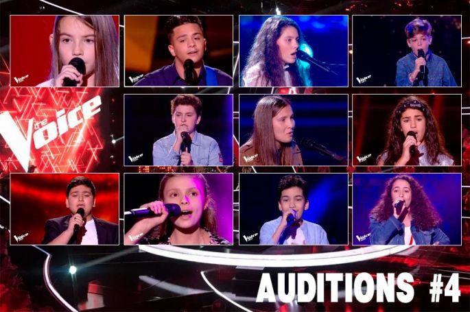 """Replay """"The Voice Kids"""" samedi 12 septembre : voici les 12 derniers talents sélectionnés (vidéo)"""