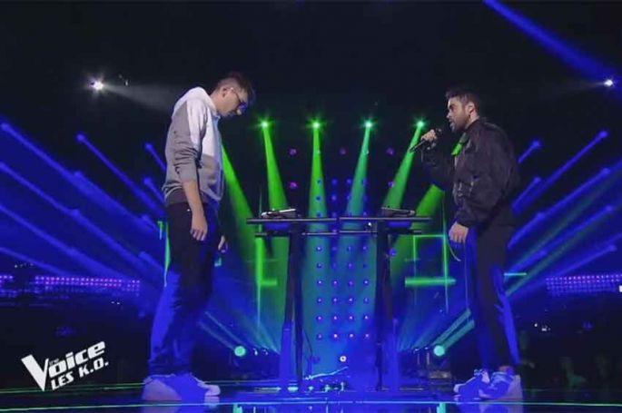 "Replay ""The Voice"" : Scam Talk chante « SexyBack » de Justin Timberlake (vidéo)"