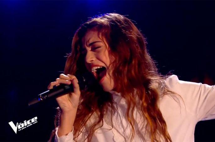"""Replay """"The Voice"""" : Baby J chante « Les Portes du Pénitencier » de Johnny Hallyday (vidéo)"""