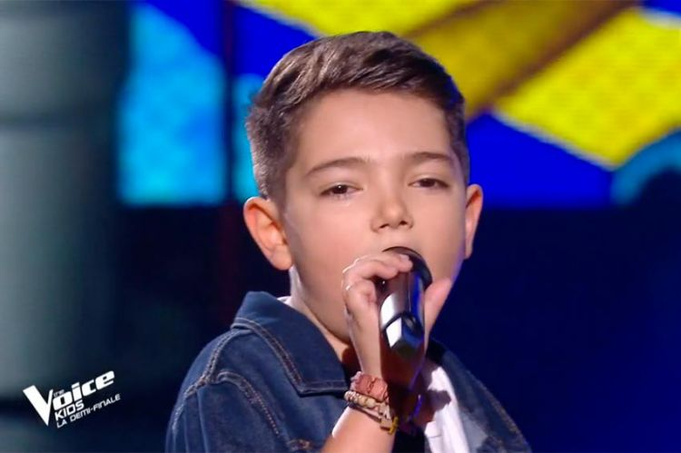 """Replay """"The Voice Kids"""" : Lissandro chante « One way or another » de Blondie (vidéo)"""