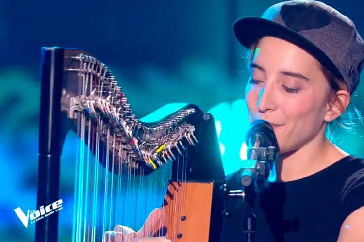 """Replay """"The Voice"""" : Gustine chante « Elle a les yeux révolver » de Marc Lavoine (vidéo)"""