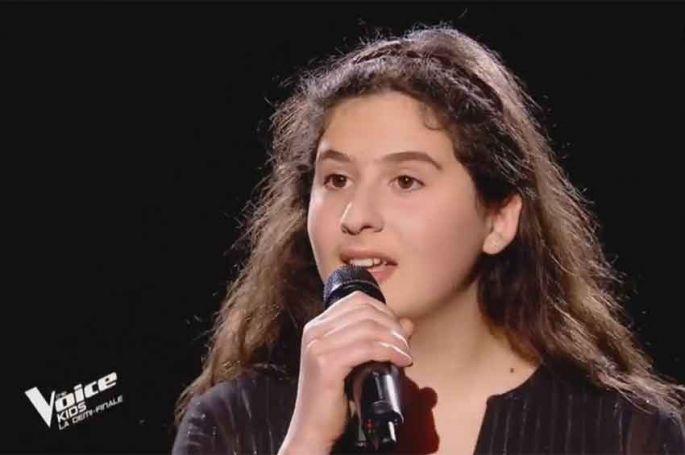 """Revoir """"The Voice Kids"""" : Ermonia chante « All I ask » d'Adèle en demi-finale (vidéo)"""