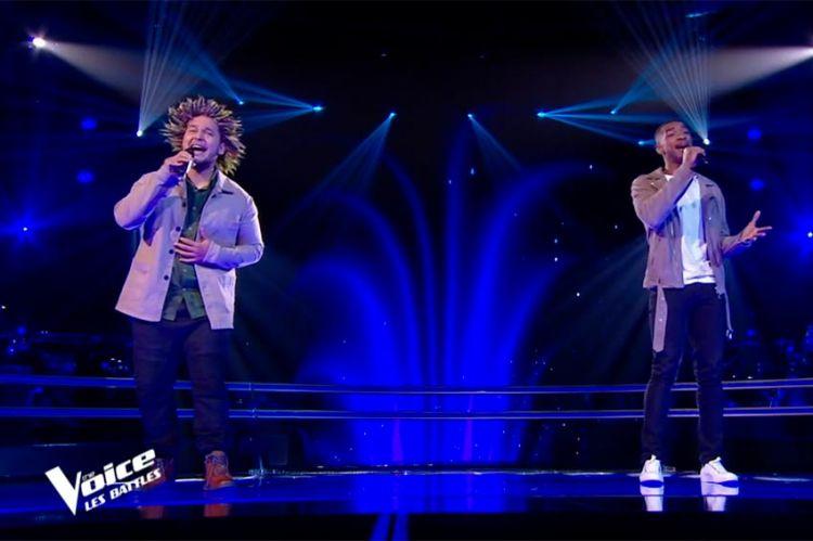 """Replay """"The Voice"""" : Abi et Raimana chantent « Un homme heureux » de William Sheller (vidéo)"""