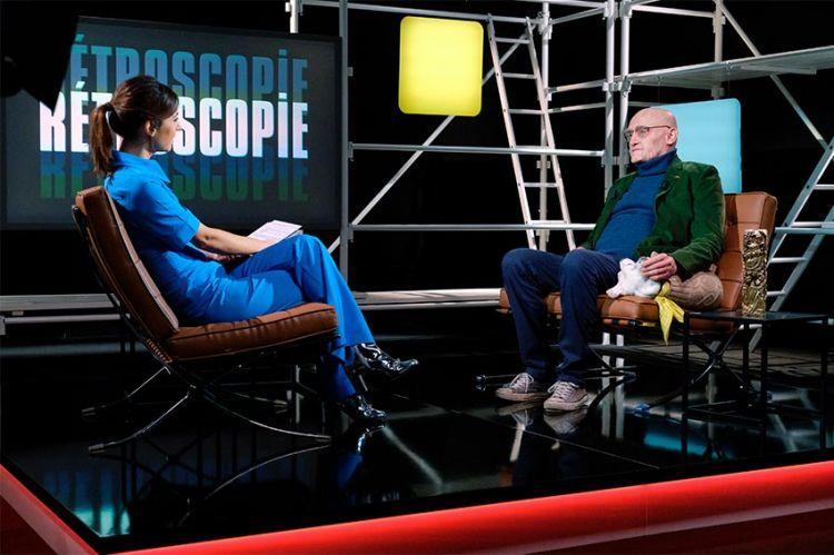 """""""Rétroscopie"""" : Hélène Mannarino reçoit Jean-Paul Rouve mercredi 16 décembre sur TMC"""
