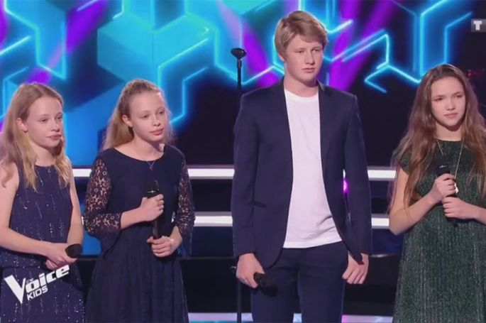 "Revoir ""The Voice Kids"" : battle Abby & Sarah, Alexander & Louna « When I was your man » de Bruno Mars (vidéo)"