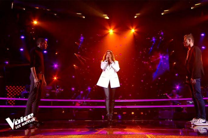 "Replay ""The Voice"" : Nicolas, Lara Bou & Jessie Will chantent « Je te promets » de Zaho (vidéo)"
