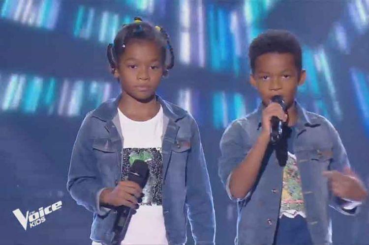 """Replay """"The Voice Kids"""" : Lucas et Nathan chantent « Sonotone » de MC Solaar (vidéo)"""