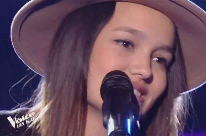 """Replay """"The Voice"""" : Laureen chante « What's Up » de 4 Non Blondes (vidéo)"""