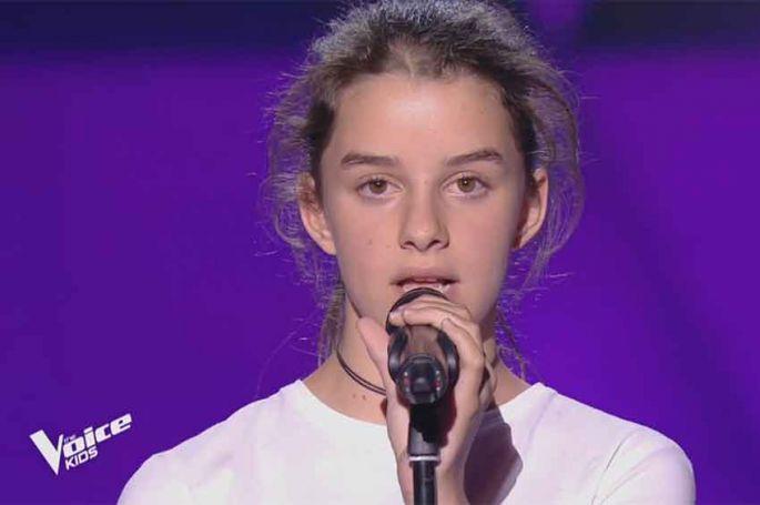 """""""The Voice Kids"""" : TF1 dévoile l'audition d'Alaïs qui va reprendre du Orelsan vendredi soir sur TF1 (vidéo)"""