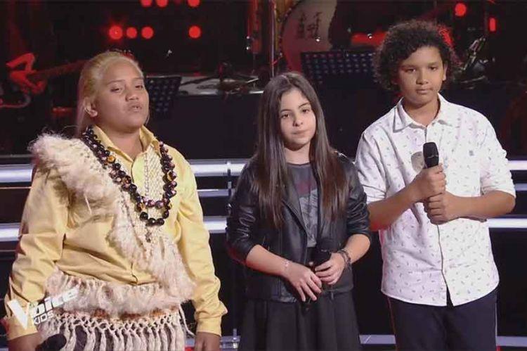 "Replay ""The Voice Kids"" : Eva, François & Ghali « Sang pour sang » de David Hallyday (vidéo)"