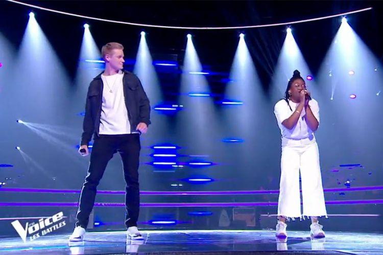 """Replay """"The Voice"""" : Terence & Manne chantent « Ca va, ça vient » de Vitaa & Slimane (vidéo)"""