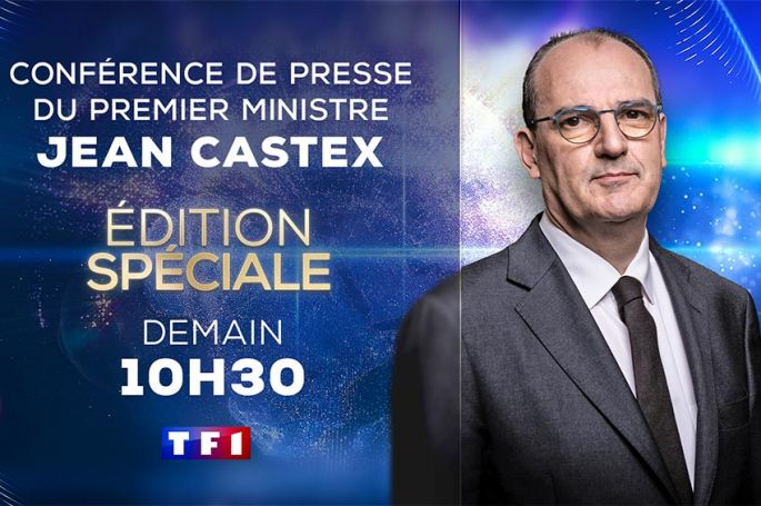 Conférence de presse de Jean Castex : édition spéciale sur TF1 jeudi 26 novembre à 10:30