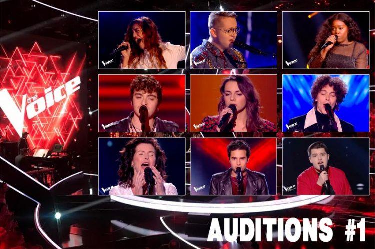 """Replay """"The Voice"""" samedi 18 janvier : voici les 8 premiers talents sélectionnés (vidéo)"""