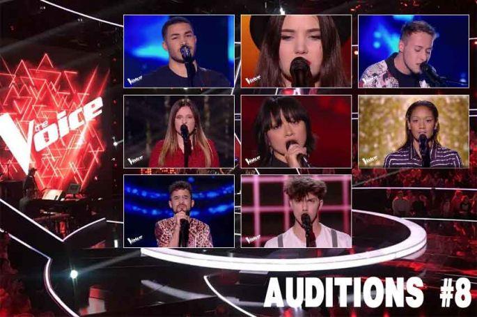"""Replay """"The Voice"""" samedi 30 mars : voici les 8 derniers talents sélectionnés (vidéo)"""