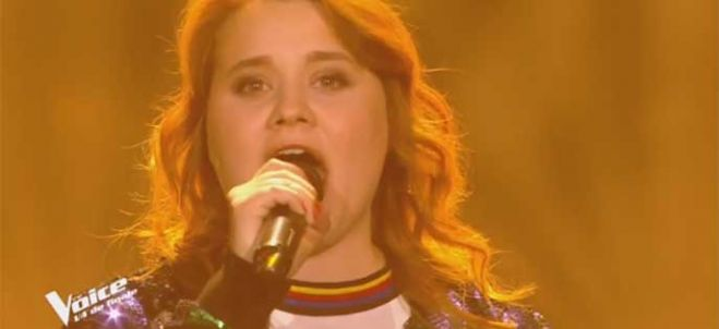 "Replay ""The Voice"" : Betty Patural chante « Isn't she lovely » de Stevie Wonder (vidéo)"