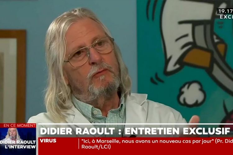 """Didier Raoult dope l'audience de LCI : record absolu pour """"24H PUJADAS"""" mardi"""