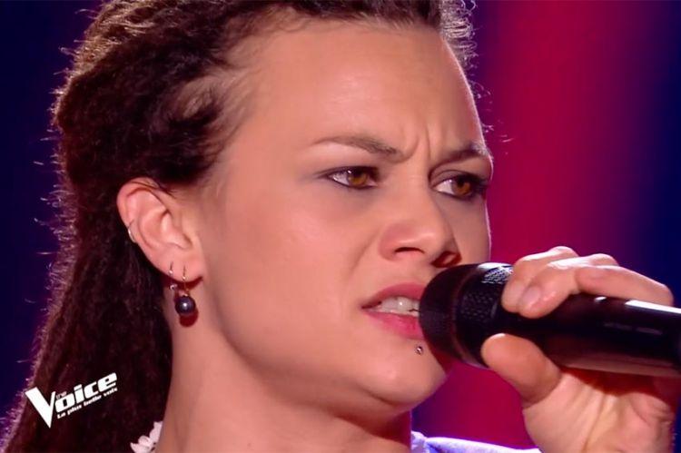 """Replay """"The Voice"""" : Mélodie chante « I'd rather go blind » d'Etta James (vidéo)"""