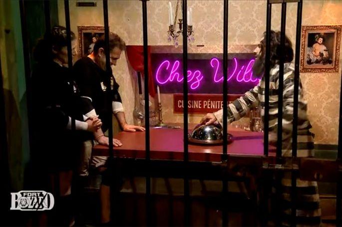 """""""Fort Boyard"""" : Testicules de taureau pour Michel Saran et Audrey Rossat dans la prison de Willy Rovelli, ce soir sur France 2 (vidéo)"""