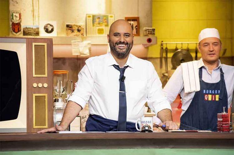 """""""Burger Quiz"""" : Jérôme Commandeur & Marina Foïs prennent les commandes mercredi sur TMC"""