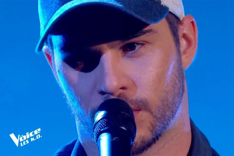 """Replay """"The Voice"""" : Antony Trice chante « Si t'étais là » de Louane (vidéo)"""