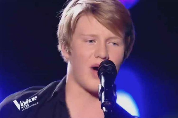 """Revoir """"The Voice Kids"""" : Alexander chante « Ca, c'est vraiment toi » de Téléphone en demi-finale (vidéo)"""