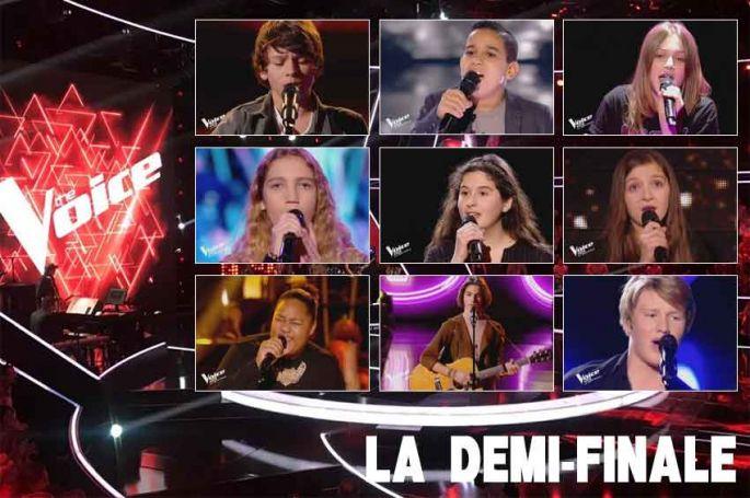 """Revoir """"The Voice Kids"""" : les 12 prestations intégrales de la demi-finale (vidéo)"""