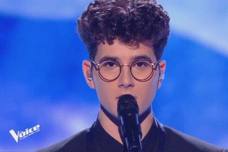 """Replay """"The Voice"""" : Gjon's Tears chante « SOS d'un terrien en détresse » de Daniel Balavoine (vidéo)"""