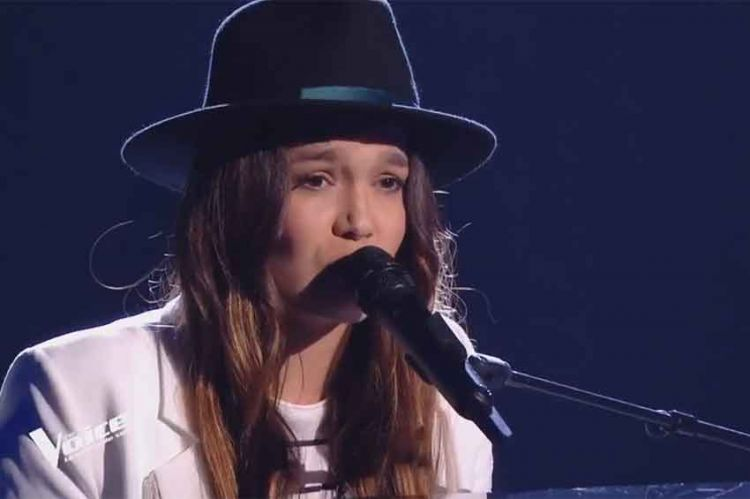 "Replay ""The Voice"" : Laureen chante « Ta marinière » de Hoshi (vidéo)"