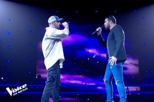 "Replay ""The Voice"" : Antony Trice et Julian chantent « With or without you » de U2 (vidéo)"