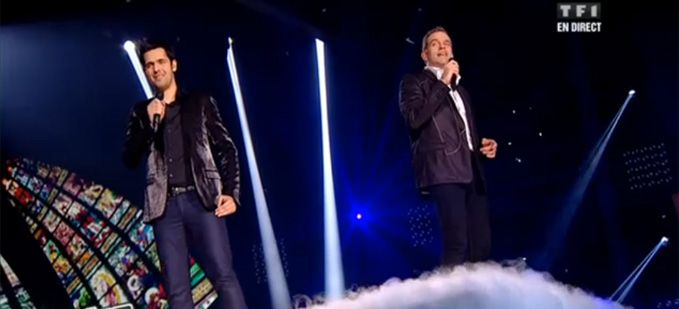 """The Voice"" Yoann Freget & Garou interprètent « Amazing Grace » (vidéo replay)"
