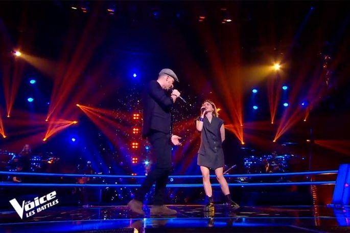"""Replay """"The Voice"""" : Aimée & Nico Sarro chantent « Besoin de personne » de Véronique Sanson (vidéo)"""