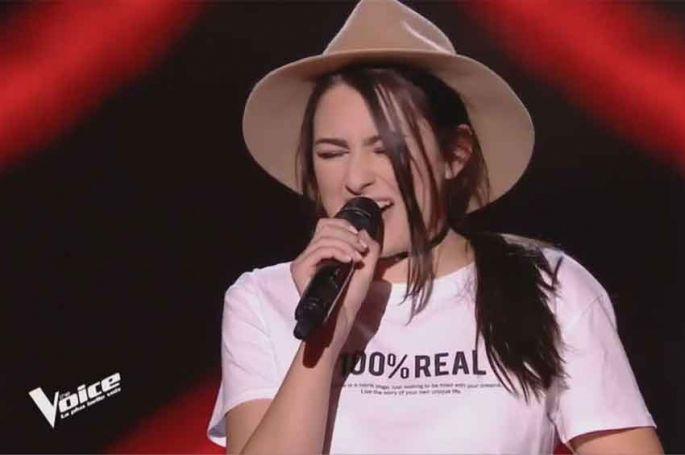"""Replay """"The Voice"""" : Louna chante « Lose Yourself » de Eminem (vidéo)"""