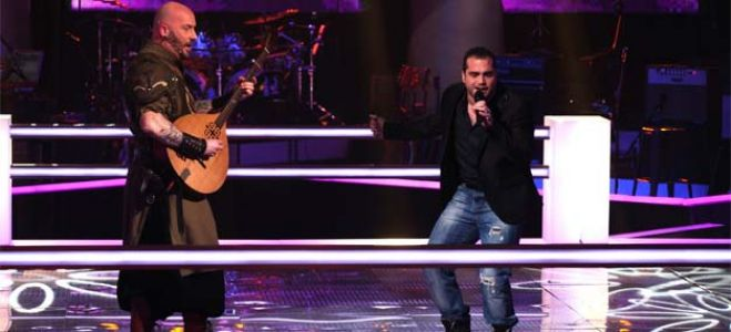 "Vidéo Replay ""The Voice"" : regardez la Battle entre Luc Arbogast et Thomas Vaccari"