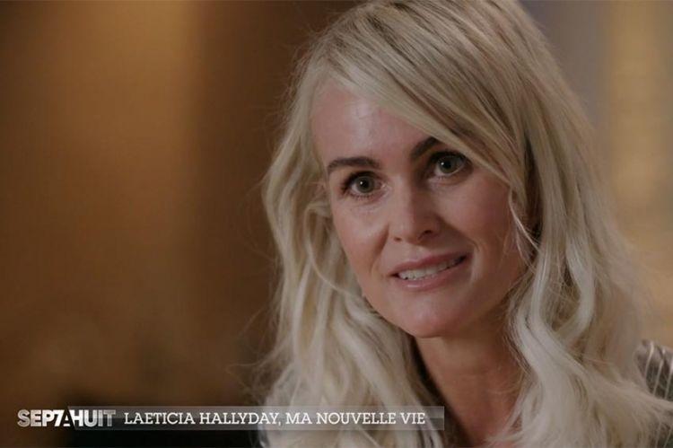 """Replay """"Sept à Huit"""" : Laeticia Hallyday se confie dans « Le portrait de la semaine » (vidéo)"""