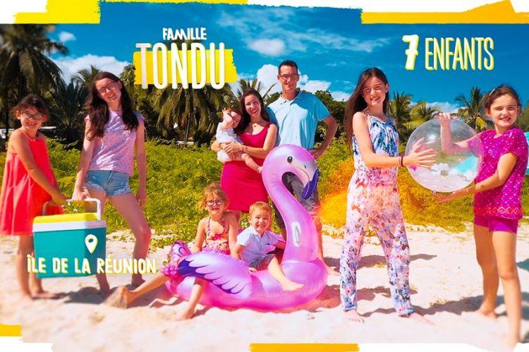 """""""Familles nombreuses : la vie au soleil"""" : découvrez la famille Tondu dès le 16 août sur TF1"""