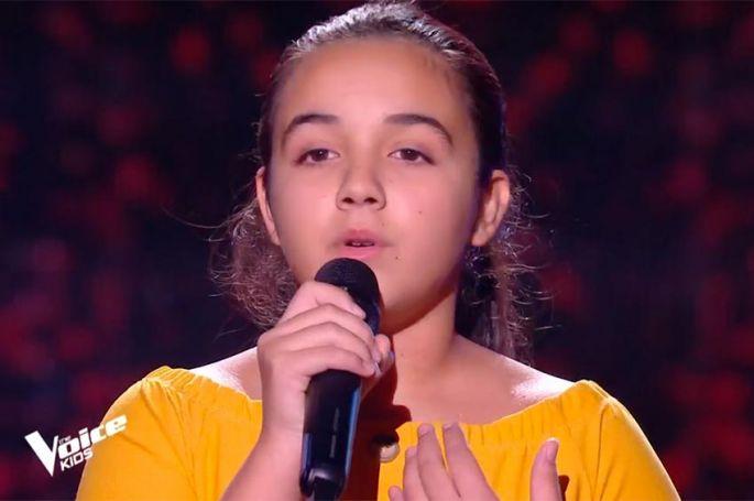 "Replay ""The Voice Kids"" : Emma chante « Addagio » de Lara Fabian (vidéo)"